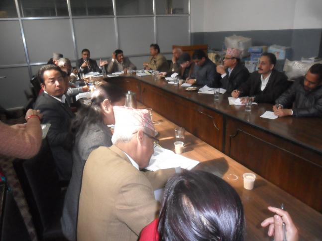 संसदिय शुसाशन तथा अनुगमन समितिले राष्ट्रिय सतर्कता केन्द्रमा अनुगमनको क्रममा